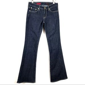 Ag The Club Dark Wash Flare Jeans Womens Size 27